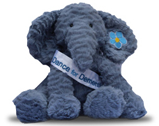 Thanks from Dance for Dementia's mascot, Ember!